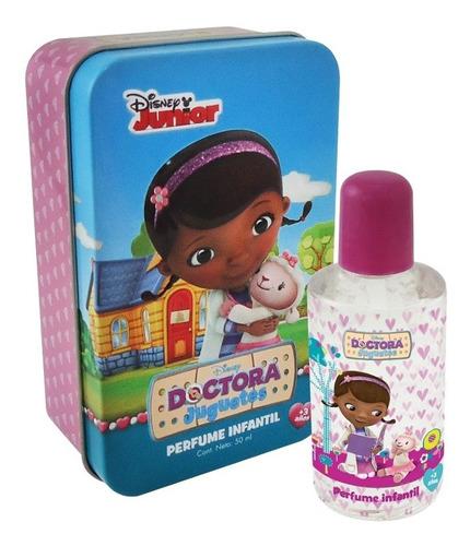 Perfume Disney Doctora Juguetes En Lata Coleccionable 50ml