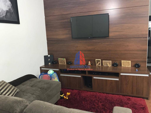 Apartamento Com 3 Dormitórios À Venda, 60 M² Por R$ 235.000 -  Residencial Campos Verdes - Parque Universitário - Americana/sp - Ap0926