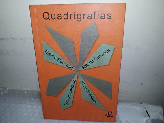 Livro Quadrigrafias Leda Miranda