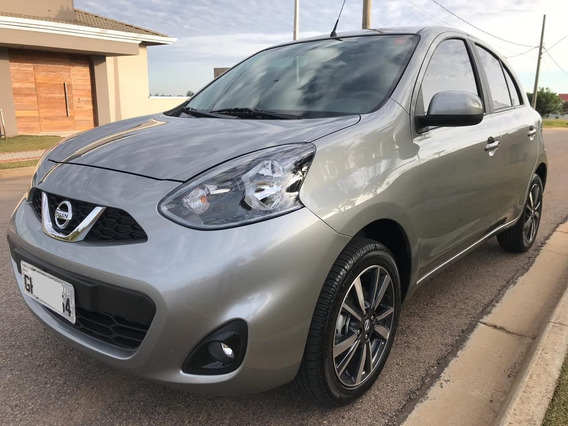 Nissan March Sl 1.6 Aut. 2019 Único Dono