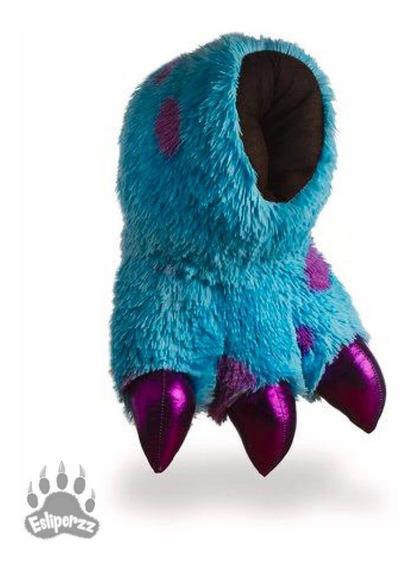 Pantuflas Junior Garra Monster Azul Moteado - Estrena A Msi