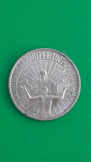 Vaticano Medalla Año Santo 1975