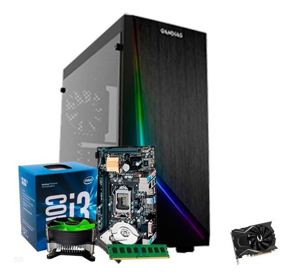 Pc Gamer I3 7100, Geforce 4gb 1650 Gtx, 8gb Ddr4, 1tb + Nfe