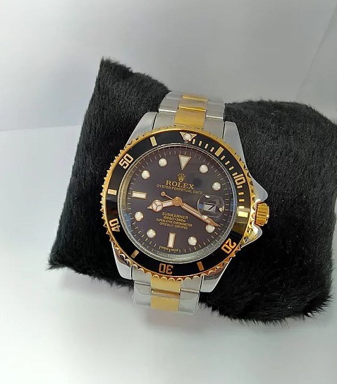 Relogio Rolex Masculino Pulseira De Couro