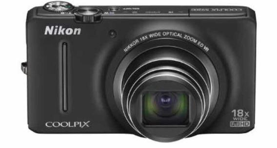 Cámara Nikon Coolpix S9200 Usada En Excelentes Condiciones