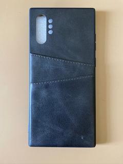 Capa Carteira Galaxy Note 10 Plus Couro Premium