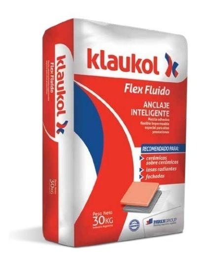 Pegamento Klaukol Porcelanato Flex X 30 Kg
