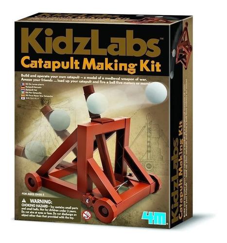 4m Kit Manualidades Crea Una Catapulta Cm385