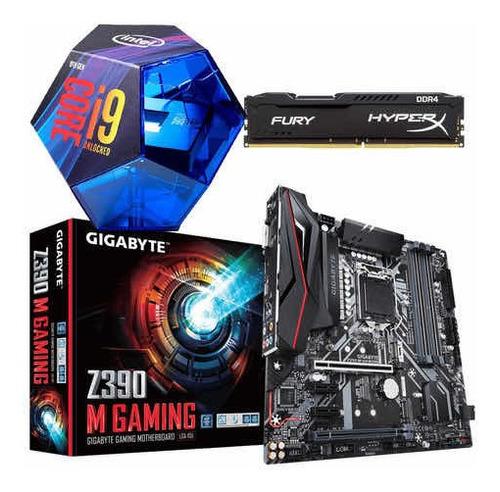 Kit Gamer I9 9900k + Z390 + 16gb Ram 2666mhz