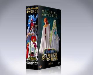 Los Caballeros Del Zodiaco Colección 5 Peliculas