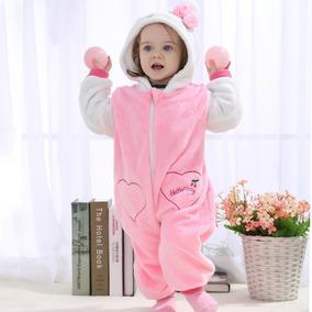 Macacão Bebê Hello Kitty Inverno 18 Á 24 Meses