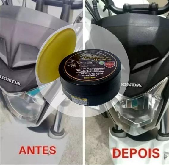 Revitalizador De Plásticos / Para-choque Pasta 118g