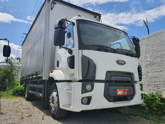 Ford Cargo 1319 4x2 Toco Ano 2013 Com Sider 6,90 X 2,85