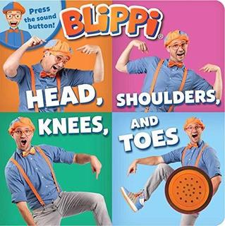 Blippi: Head, Shoulders, Knees, And Toes : Editors Of Studi