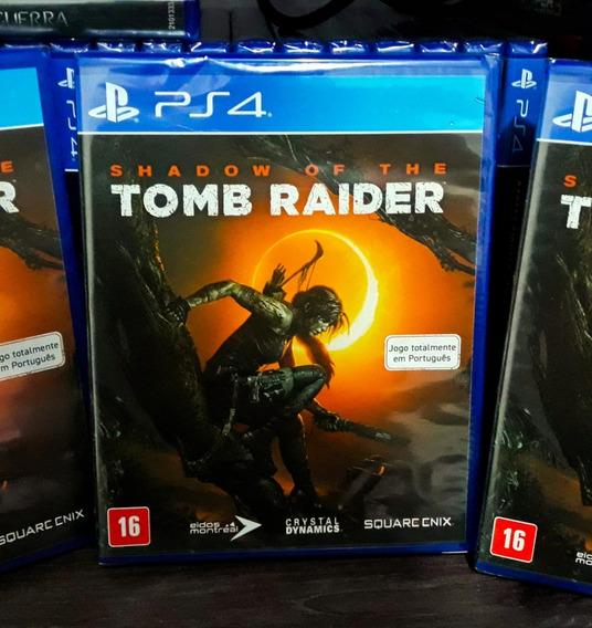 Shadow Of Tomb Raider Ps4 - Jogo Mídia Física Em Português