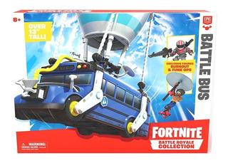Fortnite Bus Collection Original + Figura Y Accesorios Juego