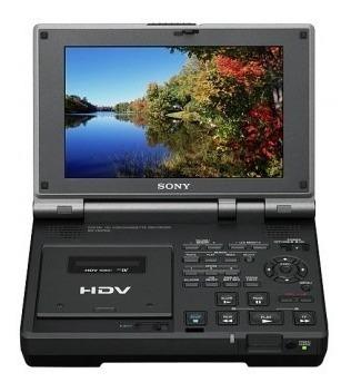 Vídeo Hdv Com Tela Lcd 7 Sony Gv-hd700