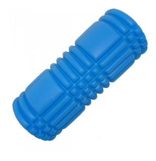 Foam Roller Rolo De Massagem Azul 51008