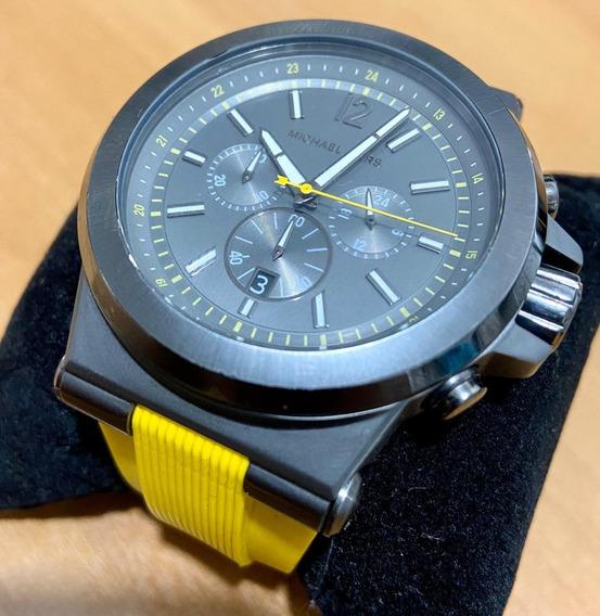 Relógio Michael Kors Modelo Mk8296 Pulseira De Silicone
