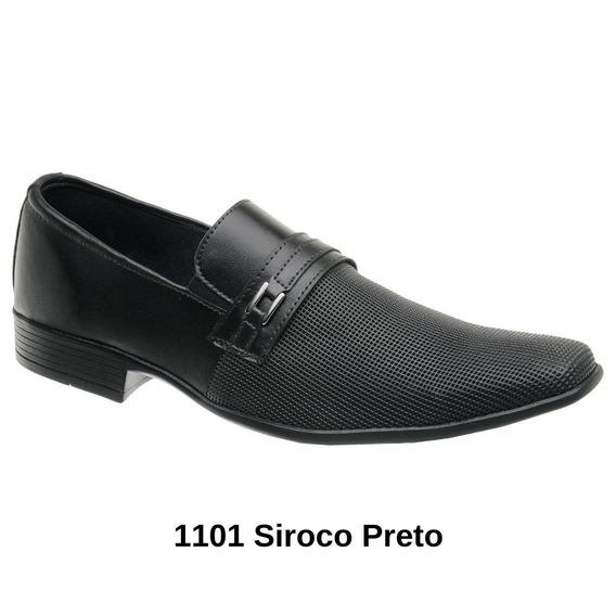 Sapato Social Masculino Couro Moderno Qualidade Confortável