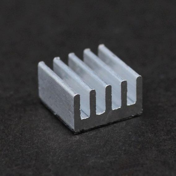20 Dissipador Calor Em Alumínio Para Chipset 8mm X 8mmx 5mm