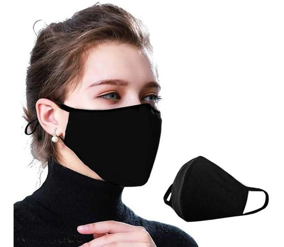 Mascara Reutilizável Tecido Lavável Dupla Camada