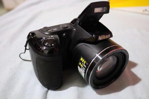 Câmera Nicon Coolpix L810+ Pilhas Recarregáveis+ Cartão 4gb