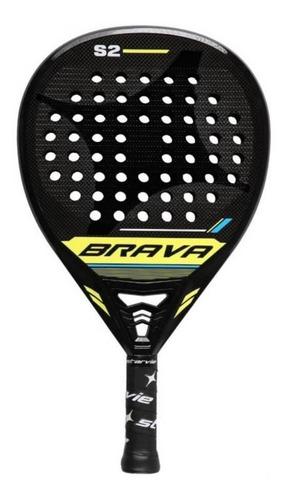 Pala de pádel StarVie Brava Black Edition 2020 negra