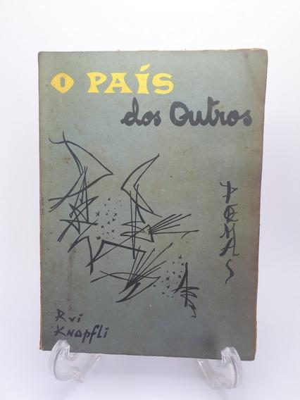 Livro O País Dos Outros Rui Knopfli Raro Antigo Autografado