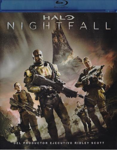 Halo Nightfall 2014 Humberto Solorzano Pelicula Blu-ray