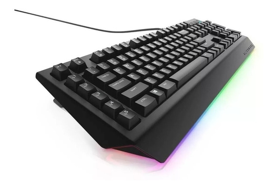 Teclado Gamer Dell Alienware Advanced Pc Aw568 Novo Openbox