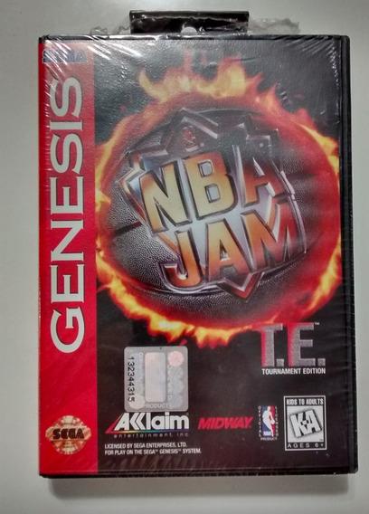 Jogo Nba Jam (lacrado, Novo) P/ Mega Drive Sega Genesis Fita