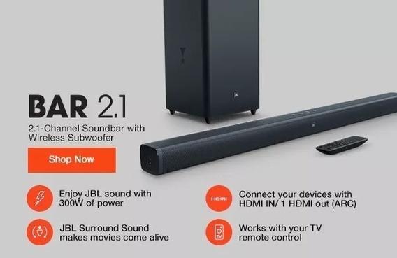 Jbl Soundbar 2.1 Bluetooth Wiirelles 100rms Garantia Nacion