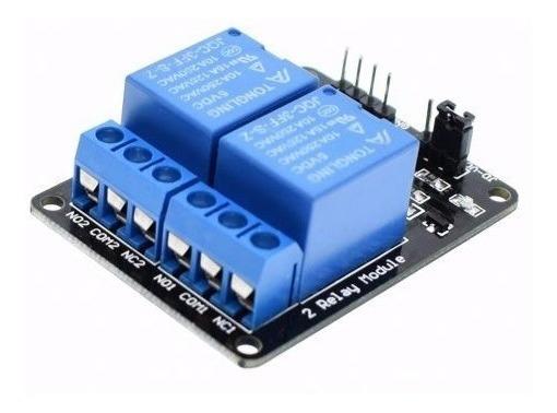 Módulo De Relé 2 Canais Para Arduino