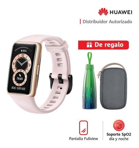 Huawei Smartwatch Band 6- Rosa + Thermo + Storage Bag