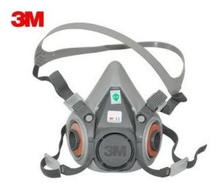 Respirador Máscara 6200 3m Semi-facial - Média