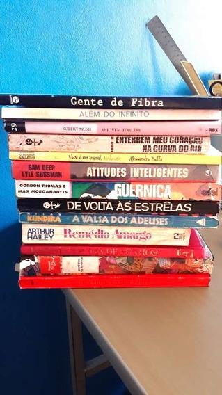 Livro Lote Literatura Estrangeira Romance 13 Títulos Barato