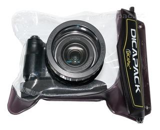 Funda Dicapac Wp-610 10 Metros Canon G1x Mark2 G10 G11 G12