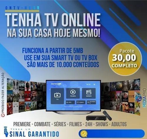 Imagem 1 de 2 de Tv A Cabo Pela Internet Na Sua Smartv/smartphone...