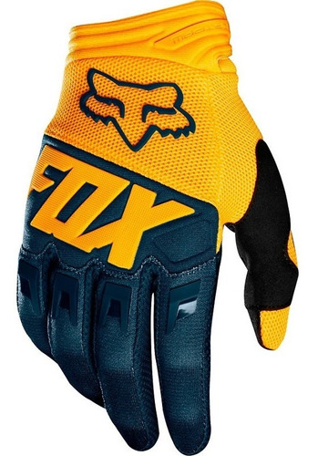 Guantes Fox Dirtpaw Motocross (navy/yellow) #22751-046