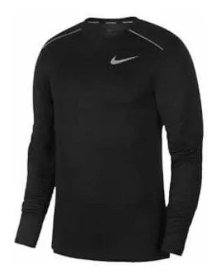 Playera Nike Bbreathe Negra Caballero 1487893 Ven.nom