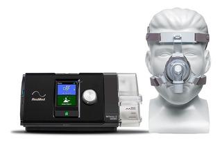 Cpap Airsense 10 Bivolt + Umidificador + Máscara Trueblue