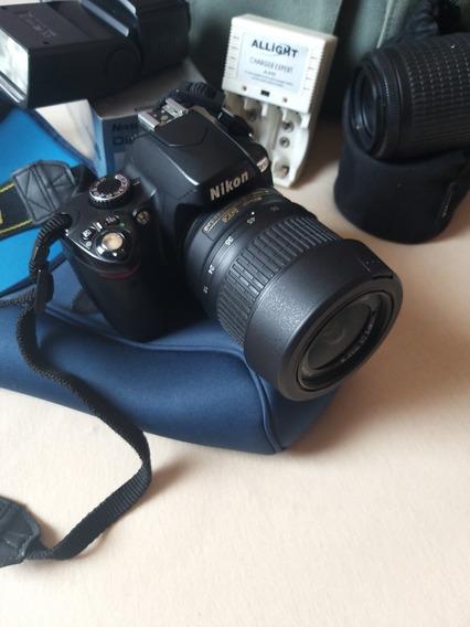 Kit Câmera Nikon Completa