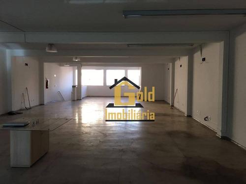 Salão Para Alugar, 380 M² Por R$ 4.500,00/mês - Jardim Paulista - Ribeirão Preto/sp - Sl0026