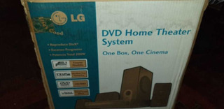 Dvd Home Theater LG