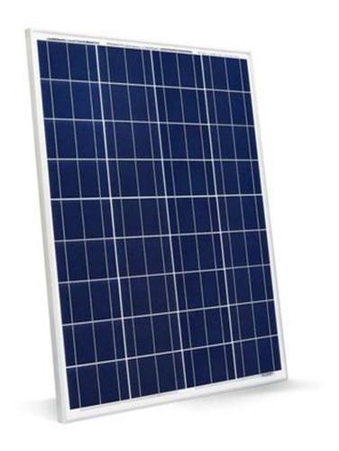 Painel Placa Solar 50w Inmetro + Controlador Carga + Cabos