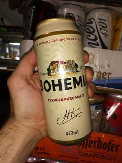 Cerveza Bohemia Importada Brasil ,caballito Norte