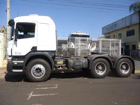 Scania 124 420 6x4 2005 Canavieiro Cabine Leito Único Dono