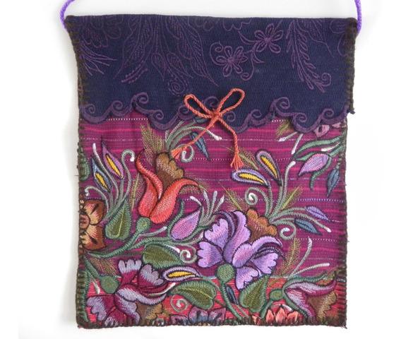 Bolsa En Bordado De Flores Artesanal Chiapaneco, Artes #14