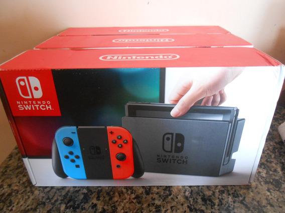Nintendo Switch 32gb Neon Blue/red - Lacrado!